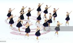Team Switzerland perform in the Short Program during the ISU World Junior Synchronized Skating Championships at Hershey Centre on March 10, 2017 in Mississauga, Canada.