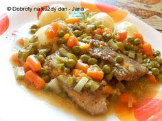 Vepřová kýta na zelenině - Naše Dobroty na každý den Chicken, Meat, Cubs