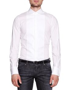 Formal Shirt, White by Dsquared2 at Neiman Marcus.