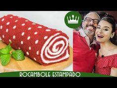 Rocambole Estampado de Bolinhas - part. Mussarela (Fashion Food: Polka Dot Cake Roll) | Bom Gosto - YouTube