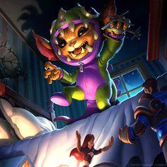League of Legends - Dino Gnar