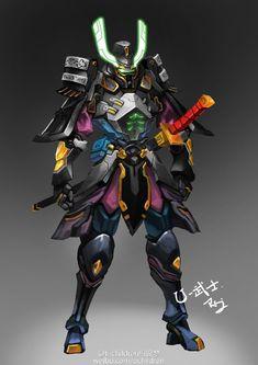 Robot Concept Art, Armor Concept, Robot Art, Fantasy Character Design, Character Concept, Character Art, Robots Characters, Fantasy Characters, Overwatch Skin Concepts