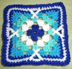 Ravelry: Claudiasaga's Royal Persian Tile Blanket