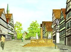 Calw: Hermann Hesse's home town
