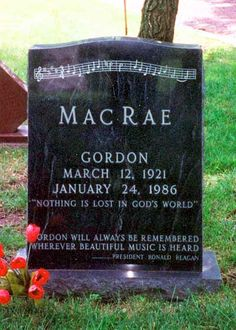 "Gordon MacRae (1921 - 1986) Played Curly in the film version of ""Oklahoma!"", father of Meredith MacRae"