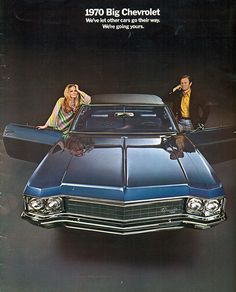 1970 Chevrolet Caprice, 2 Door Hardtop.
