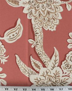 Brookhaven Poppy | Online Discount Drapery Fabrics and Upholstery Fabric Superstore!