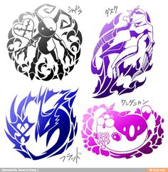 Heartless, Nobodies, Unversed, & Dream Eaters. I would love to get the nobodies or heartless tattooed!!