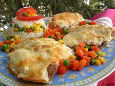 Fokhagymás, mustáros–tejfölös csirkecomb Comb, Tacos, Meat, Chicken, Ethnic Recipes, Cubs