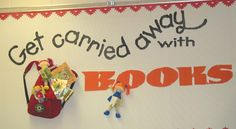 More than 20 bulletin boards for the library, but many are also suitable for a classroom.
