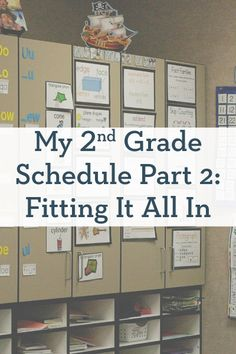 My 2nd Grade Schedule Part 2: Fitting It All In Classroom Schedule, School Classroom, 2nd Grade Classroom, Classroom Procedures, Teacher Hacks, Teacher Stuff, Classroom Organization, Classroom Setup, Classroom Setting