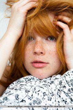 redhead & freckles::