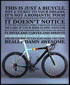 i love my bike, yo.