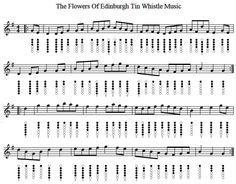 flowers of Edimburgh chart