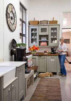 Swedish Style Center Island on Castors, in Black | Colours in the Kitchen |  Pinterest | Swedish style and Kitchens