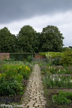 The charming walled Tudor Garden at Osterley Park and House in West London