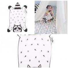 Dribble Droolers: Rocco the Raccoon Baby Burp Cloths