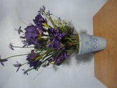'bloom' purple flowers