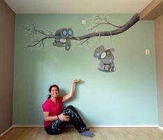 Baby room mural by Saskia de Wit # . Baby room mural by Saskia de Wit # … – Baby Room Boy, Baby Room Closet, Baby Bedroom, Kids Bedroom, Baby Baby, Baby Room Themes, Baby Room Colors, Baby Room Decor, Kids Wall Murals