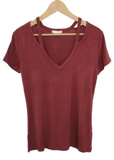 zuri cut out top