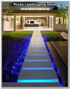 landscape lighting design Nothing refreshes the appearance of your house like new outdoor lighting fixtures. Your backyard deck lights can be completed in many means. Side Yard Landscaping, Backyard Patio, Landscaping Ideas, Backyard Ideas, Hydrangea Landscaping, Driveway Landscaping, Landscaping Plants, Outdoor Ideas, Backyard Lighting