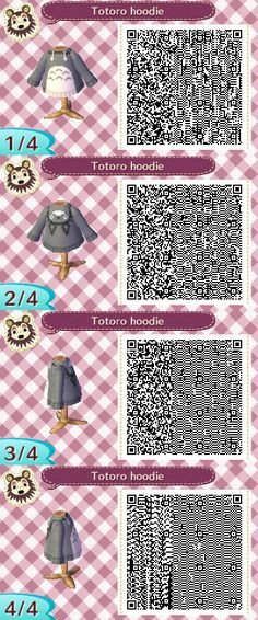 Animal Crossing QR Codes - Fall/Winter