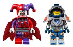 LEGO Nexo Knights Jestro & Clay #LEGO #NexoKnights #LEGONexoKnights #LEGOCastle #Steampunk #LEGOSteampunk #Afol #Afols #Minifigure #Minifigures #Minifigs #minifig #LEGOMinifigure #LEGOMinifigures #LEGONews