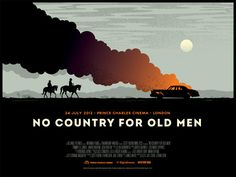 NO COUNTRY FOR OLD MEN poster by James Whíte, via Flickr
