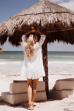 An Instagram Guide To Tulum - Fashion Mumblr Coco Tulum, Fashion Mumblr, Boho Beach Style, Tulum Mexico, Beach Town, Boho Baby, Caribbean, Cover Up, White Dress