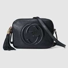 3f725121b3f99 Shop the Soho small leather disco bag by Gucci. A compact shoulder bag with  a