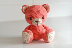 Ravelry: Amigurumi cuties - bunny, puppy and teddy pattern by Mari-Liis Lille