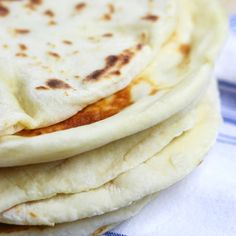 Breads 193654852714986116 - Learn the basics of making Homemade Naan, an easy & fluffy skillet bread that goes perfectly with Indian dishes or can be used to make pizza. Nann Bread Recipe, Naan Bread Recipe Easy, Indian Naan Bread Recipe, Make Naan Bread, Homemade Naan Bread, Bread Recipe Video, Recipes With Naan Bread, Homemade Chapati, Nan Recipe