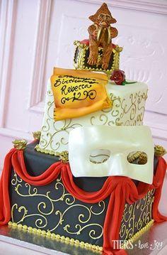 Phantom of the Opera Cake by Beverly's Best Bakery