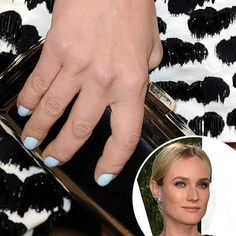 Diane Kruger at the Vanity Fair Oscar afterparty. See all of the red carpet manicures from award season!