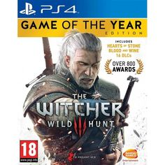 The Witcher 3 Wild Hunt Game Of The Year (GOTY) PS4 | http://gamesactions.com shares #new #latest #videogames #games for #pc #psp #ps3 #wii #xbox #nintendo #3ds