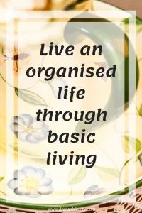 Live an organised life through basic living - Domesblissity Organised Life, Organising Ideas, Drawer Filing Cabinet, Plastic Organizer, Back To Basics, Financial Success, Organizing Your Home, Life Organization, Simple Living