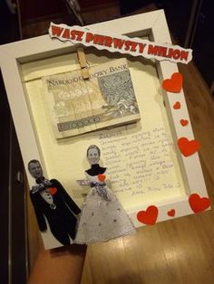 Wedding Present Ideas, Dream Book, Inspirational Gifts, Diy Gifts, Anniversary Gifts, Origami, Diy And Crafts, Dream Wedding, Presents