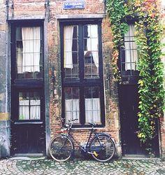 Vintage, Casa Antigua, Bicicleta