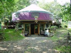 Two story yurt