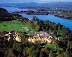 Sheen Falls Lodge in Ireland  - RIng of Kerry    have we got a river story to tell there!