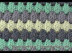 Videolu, Şişle Renkli Örgü Modeli Yapılışı - Mimuu.com