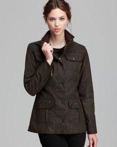 Barbour Jacket - Utility Lightweight Waxed Cotton | Bloomingdale's