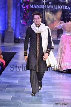 Imran Khan at Mijwan Sonnets in Fabric Fashion Show, Sept, 2012 by Manish Malhotra to raise funds for brilliant Mijwan Welfare Society run by Actor & Activist Shabana Azmi https://twitter.com/AzmiShabana founded by her late father Poet Activist Kaifi Azmi   http://www.ketto.org/fundraiser_home.php?id=Fund134