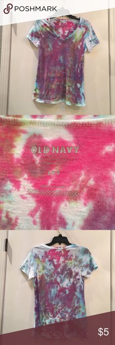 Tie dye shirt Tie dye shirt. Good condition. Old Navy Tops Tees - Short Sleeve
