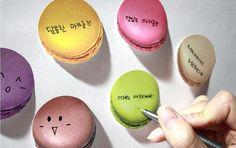 Sticky Note Macarons / Notepad / Memopad от DubuDumo на Etsy