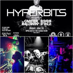 TONIGHT!!!! You don't wanna miss this show! June 20th at 9p! Hyperbits is gonna DESTROY the Canal Club!! Amazing local talent to support him with DJ Carter Baldwin, Dook & D-Rez, DEE Smile5, MATT PURDY, and Exit Five!! INTUNE Productions I Dekolite Productions I Neon Black Clothing I Mr. NightLife I Connecting RVA I Deviant Dollz Go Go  @Hyperbits @_ElectricSky_ @TheCanalClub #RVA #Richmond #DJ #Music #Party #EDM #Lights #electricsky #ravelife #rave #electricsky #rva #VCU  #letsgovcu #govcu…