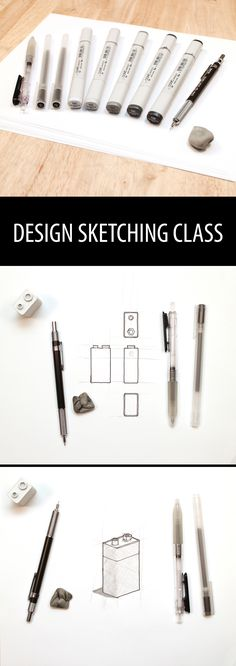 Sketching is the primary skill of the designer. It's the best way to quickly generate, iterate, and communicate design ideas to yourself and to others. In this class, you'll learn the basics of how to sketch in 2D, 3D, and how to shade a drawing to add realism.