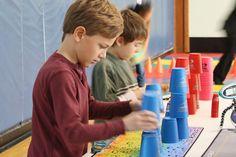 Fourth graders at the Goshen Intermediate School helped break the Guinness World Record in sport stacking during the seventh annual World Sport Stacking Association STACK UP! More than 2,600 schools and organizations representing some 30 countries from around the world registered for this year's event.