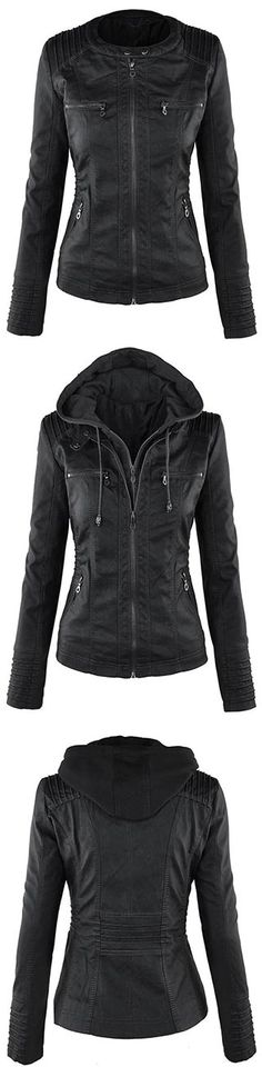 We'd snatch this PU jacket up in a New York minute if we were you.Pre-order and enjoy 25% off now, $45.99 and only for the top 100 orders! More amazing pieces at CUPSHE.COM