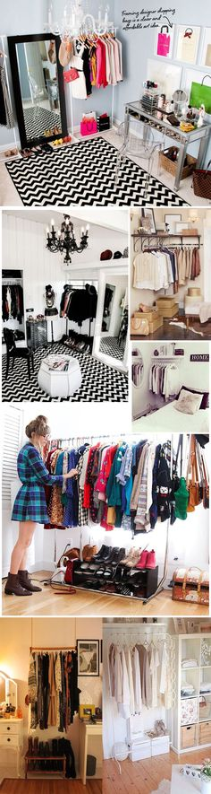 fotos closets modernos